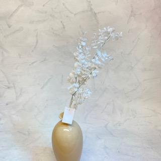 květina umělá eukaliptus větev bílá