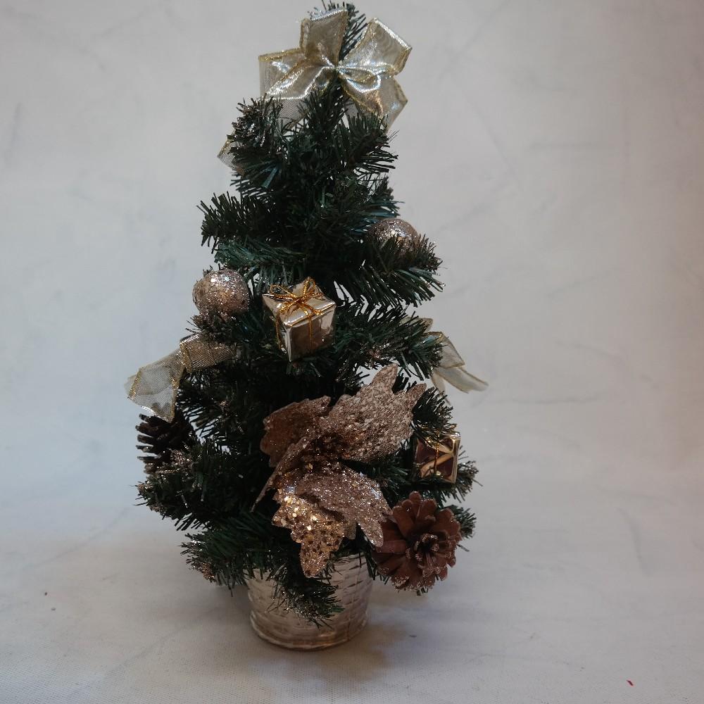 stroveček Vánoční ozdobený