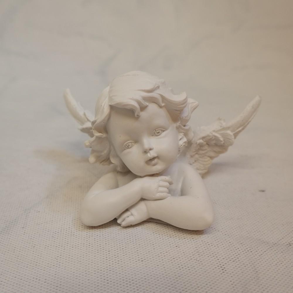 anděl dekorac e polyresin
