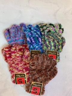 rukavice dětské barevné