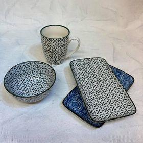 tácek porcelánový