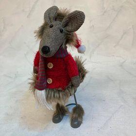 myš textilní dekorace