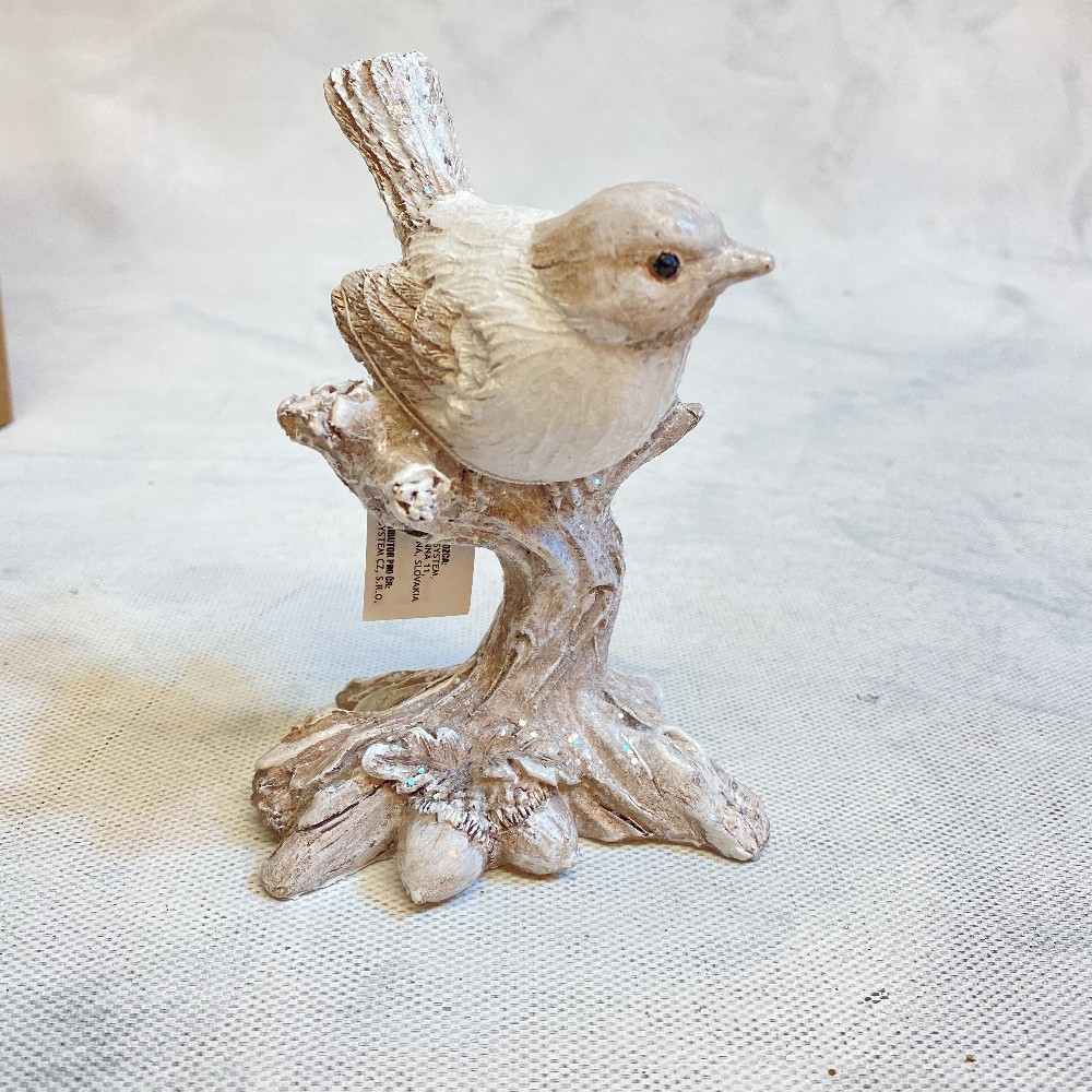 ptáček na větvi poilyresin