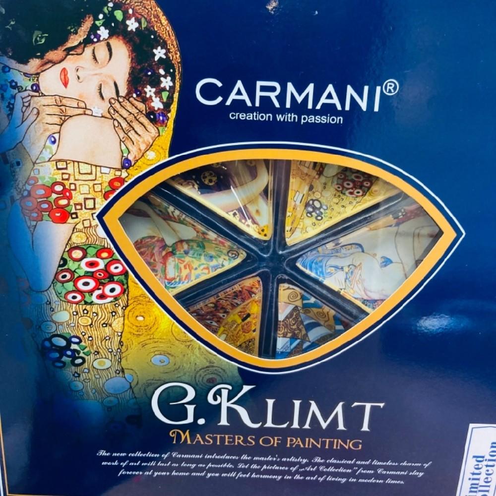 porcelán G.Klimt sada 6ks