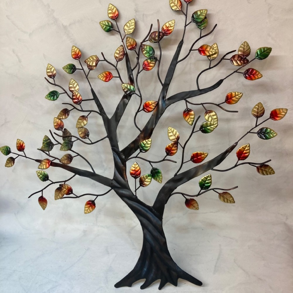 strom kovová dekorace