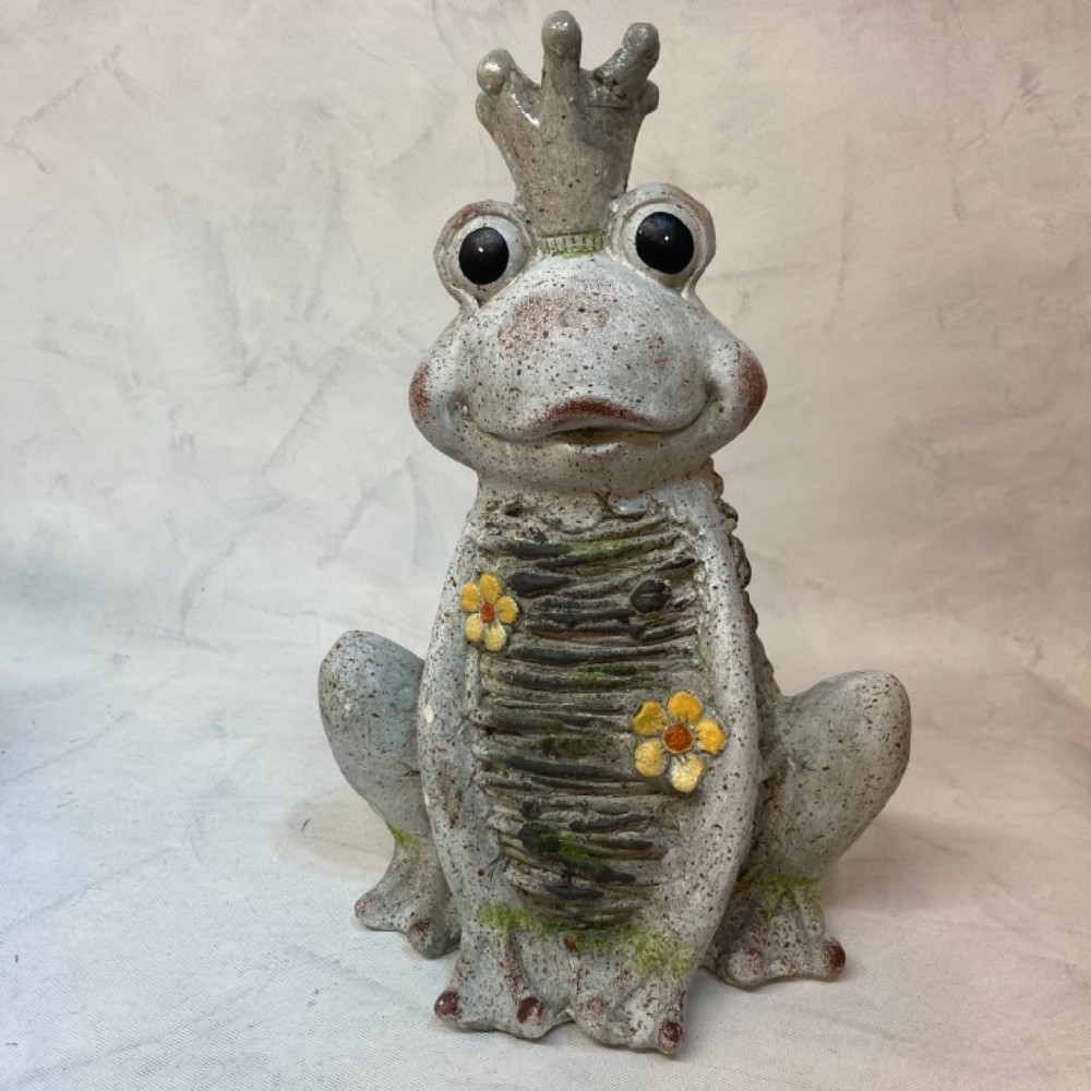 žába dekorace MgO keramika