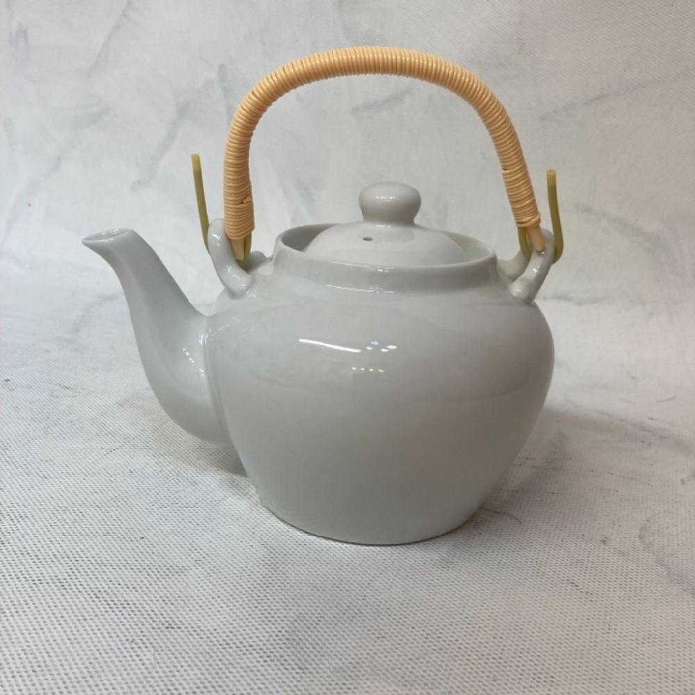 konvice 600ml čajová bílá