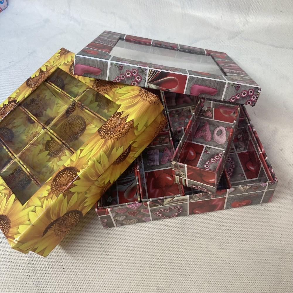 krabice 21x21x5cm