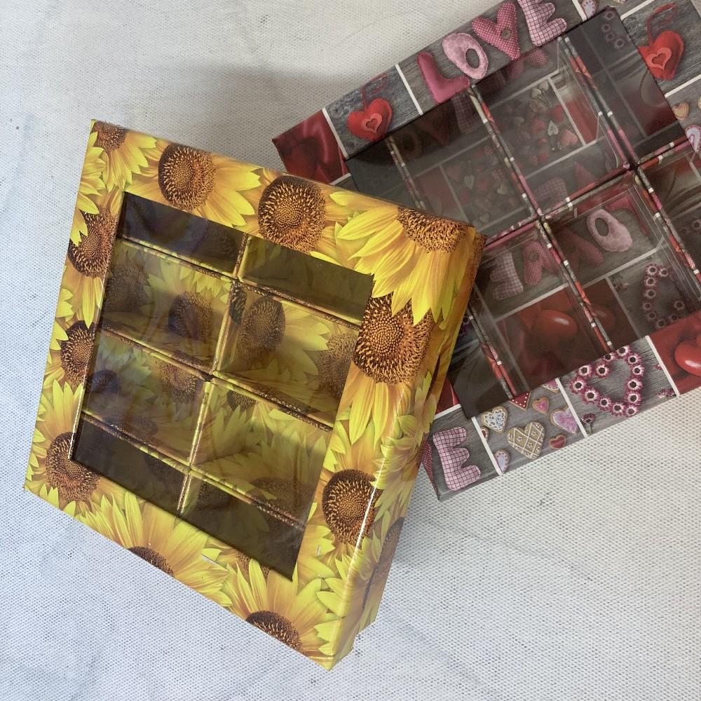 krabice 23x23x6cm