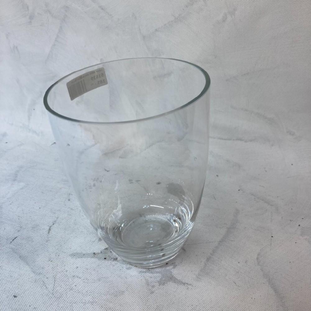 váza sklo 20x15cm