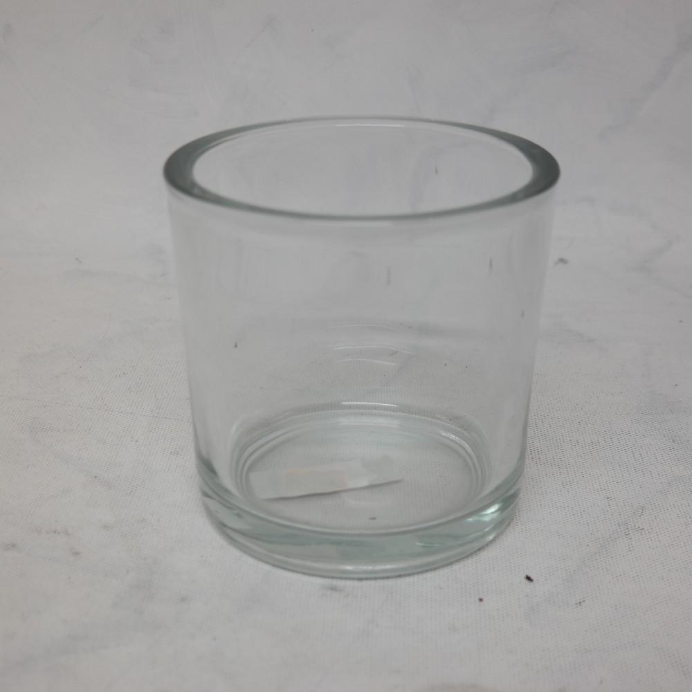 váza sklo válec/nízký