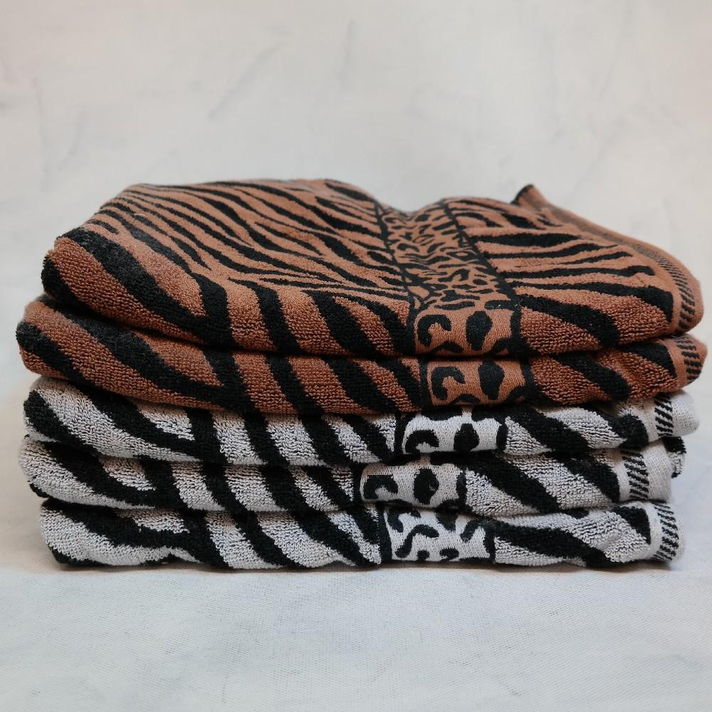 osuška zebra 70x140