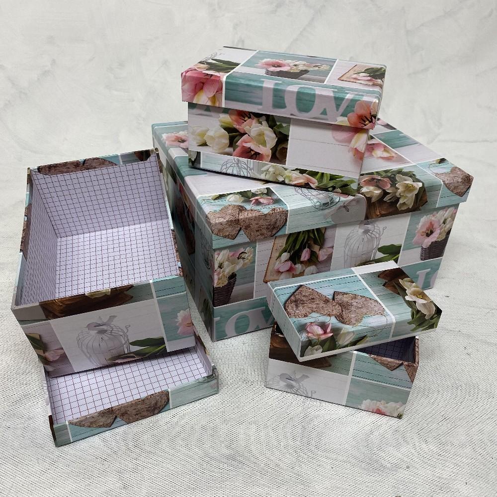 krabička LOVE 27,5x22,5cm