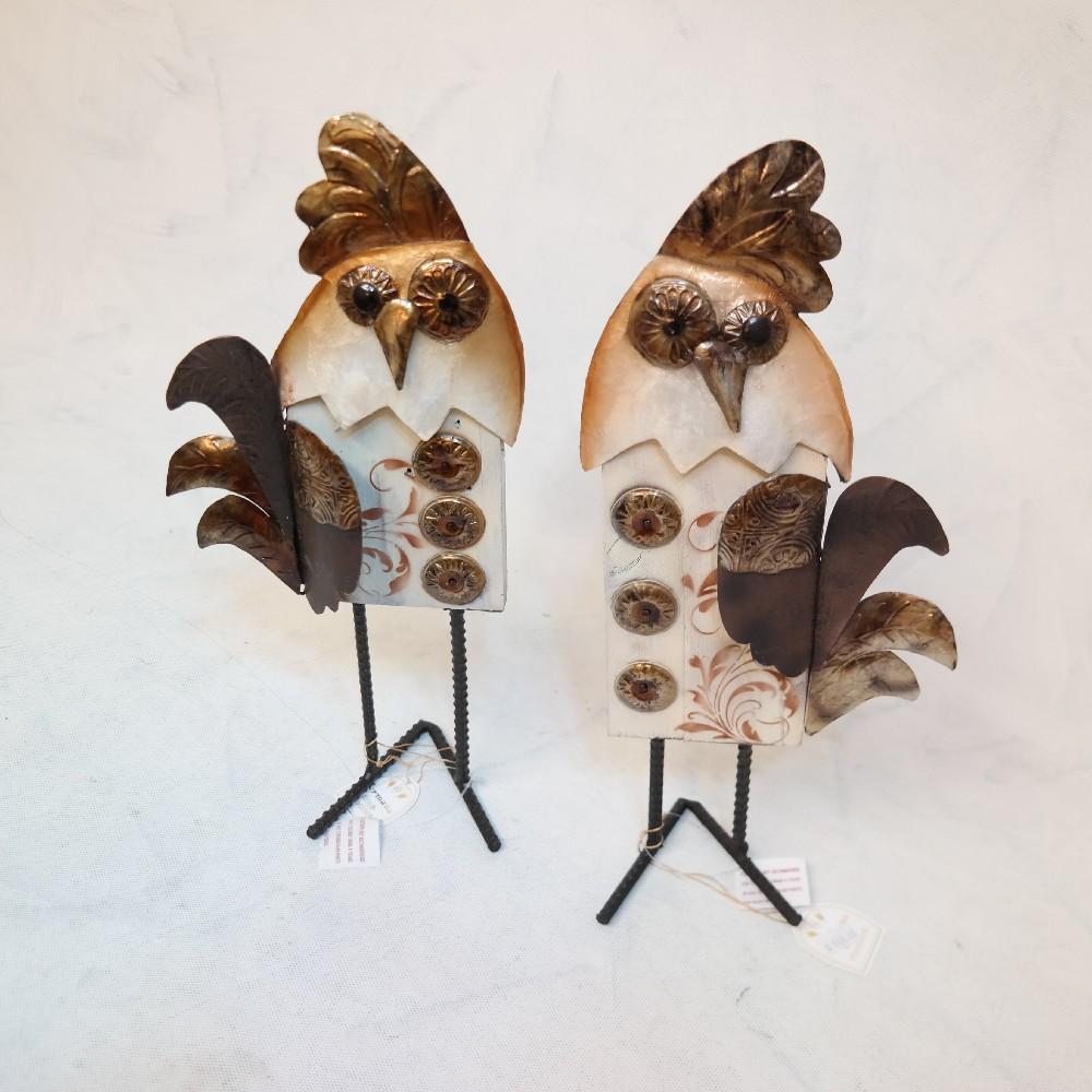 plechový pták