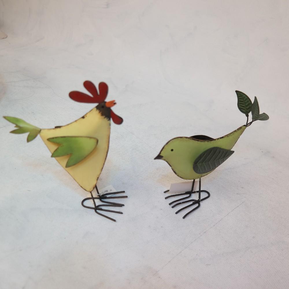 plechoví ptáčci  15 cm