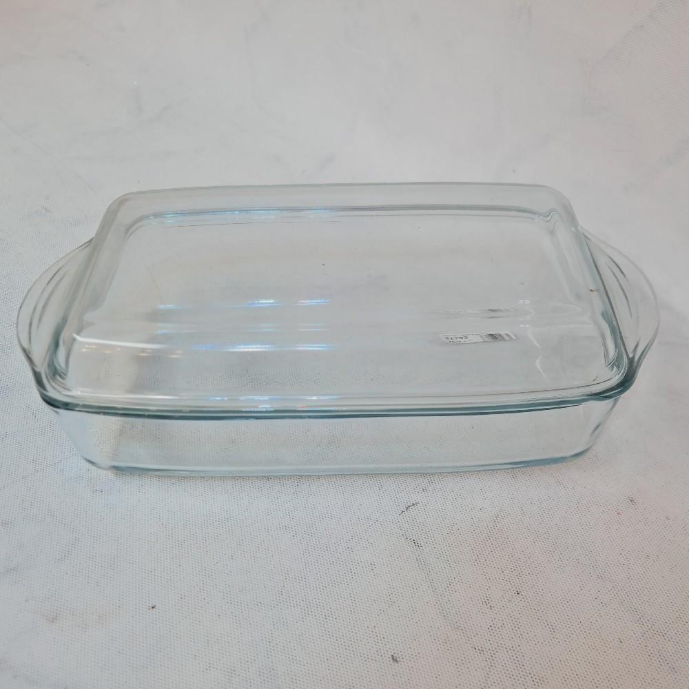 pekáč sklo s poklopem