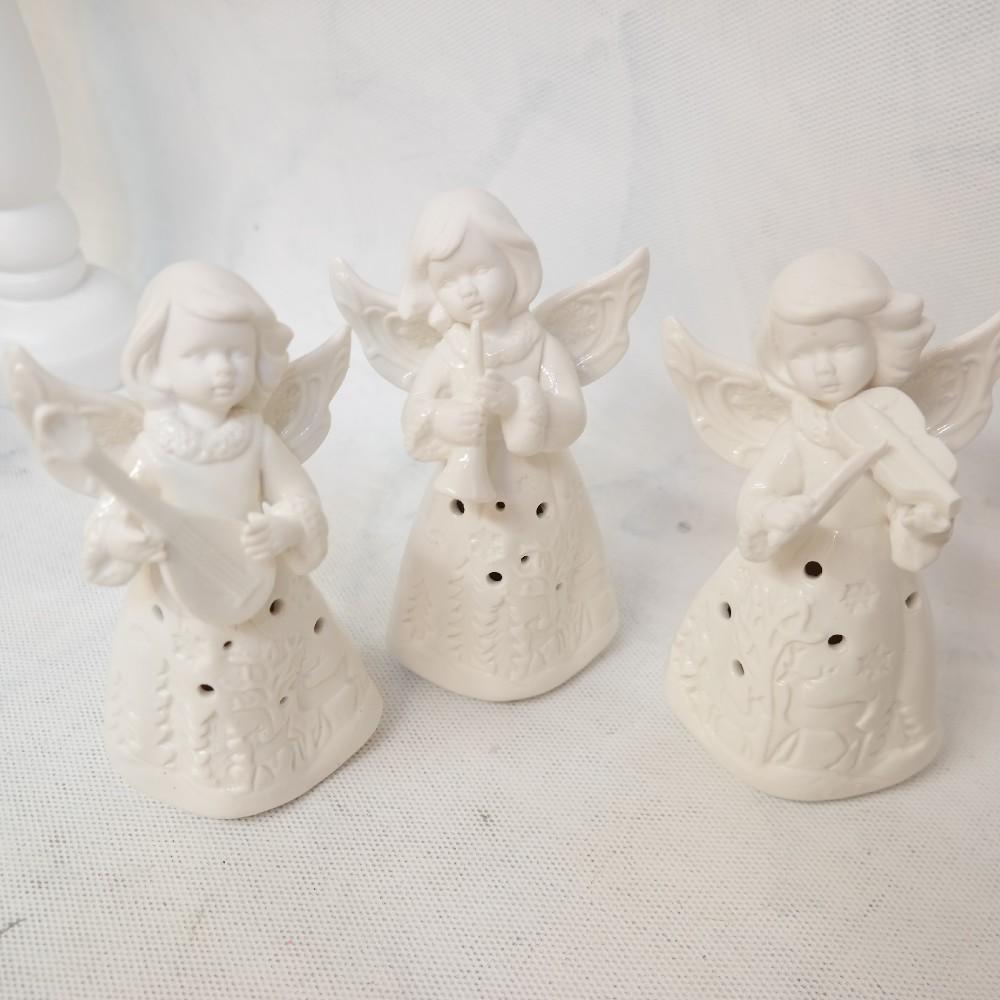 anděl svítící vánoční dekorace