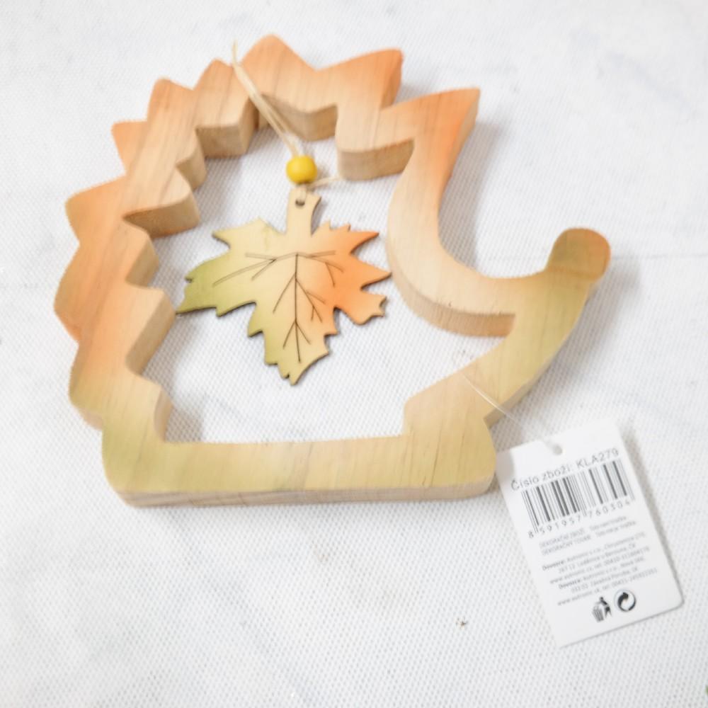 ježek dřevo 16 cm