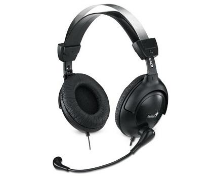 GENIUS sluchátka HS-M505X s mikrofonem, nastavitelná velikost (nástupce hs-500x)