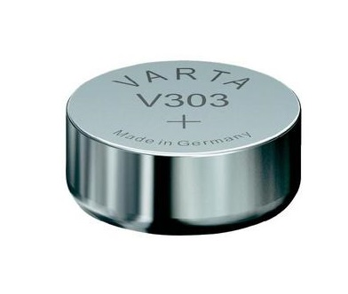 VARTA V303 hodinková baterie 1ks blistr