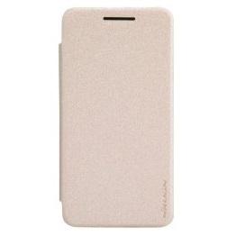 Nillkin Sparkle S-View Pouzdro Gold pro ASUS Zenfone4