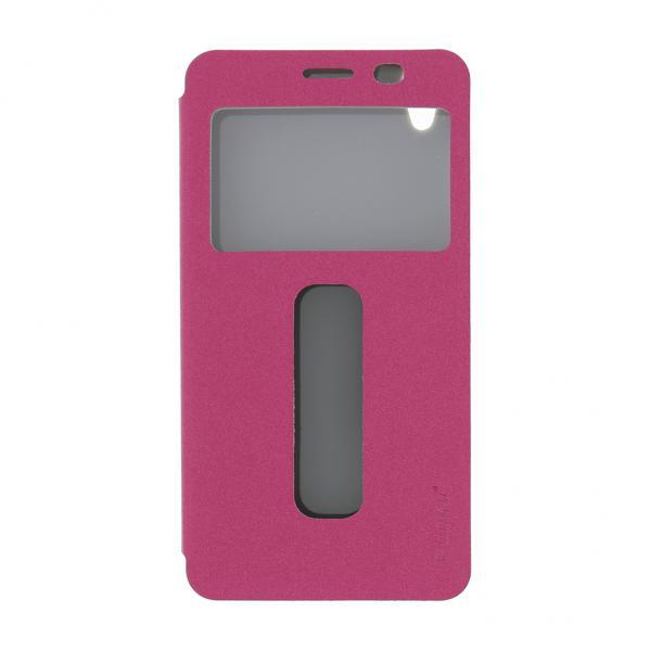 Pudini S-View Pouzdro Pink pro Lenovo S860 (Bulk)