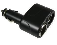 Rozdvojka 2x CL zásuvka do auta (Black)