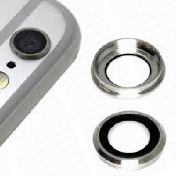 Apple iPhone 6 Plus / 6S Plus Sklíčko Kamery + Rámeček (White)