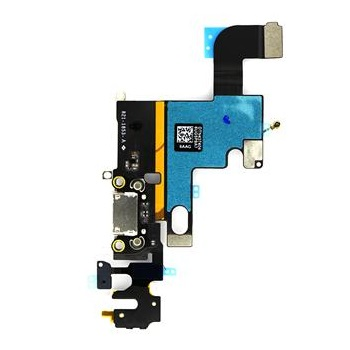 Apple iPhone 6 Dock Konektor, Flex Kabel včetně Dobíjecího Konektoru (White)