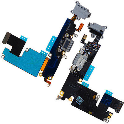 Apple iPhone 6 Plus Dock Konektor, Flex vč. Dobíjecího Konektoru (White)