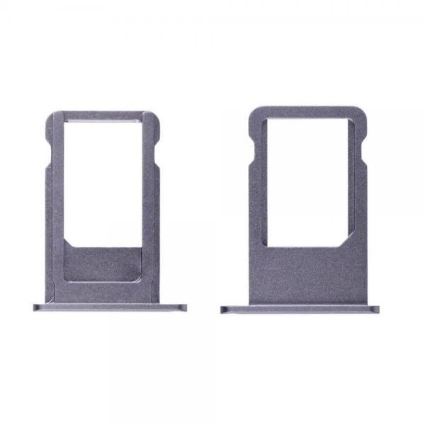 Apple iPhone 6S/6S Plus Držák SIM Karty (Black)