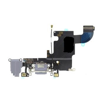 Apple iPhone 6S Dock Konektor, Flex Kabel vč. Dobíjecího Konektoru (Black)