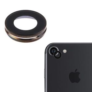 Apple iPhone 7 Sklíčko Kamery + Rámeček (Black)