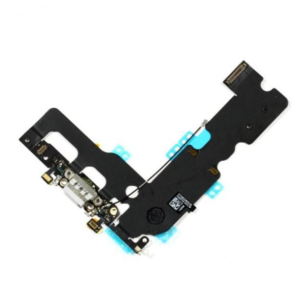 Apple iPhone 7 Plus Dock Konektor, Dobíjecí konektor vč. Flex Kabelu (White)