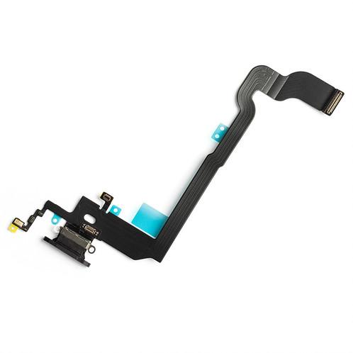 Apple iPhone X Dock Konektor, Dobíjecí konektor, Flex Kabel (Black)
