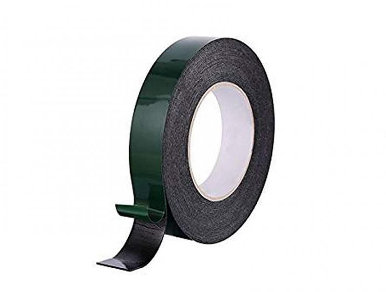 Oboustranná páska pěnová lepící páska 20mm / 10m / 1mm (Black)