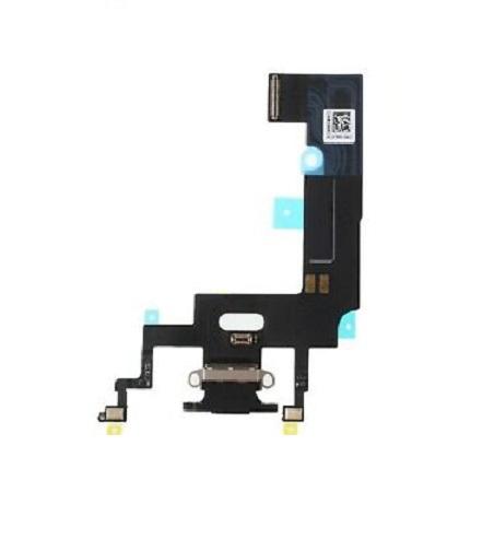 Apple iPhone XR Dock Konektor, Dobíjecí konektor, Flex Kabel (Black)