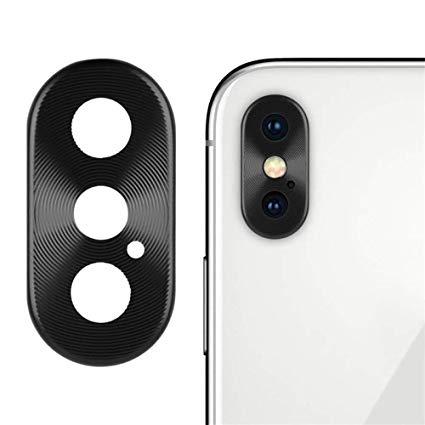 Apple iPhone XS MAX Sklíčko Kamery, Rámeček (Black)