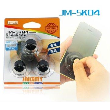 JAKEMY JM-SK04 Vakuové Přísavky Pro Oddělení LCD od Telefonu (3ks) Transparentní