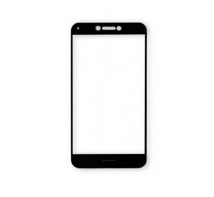 Tvrzené sklo iPhone 6/6S/7, černá, celoplošné lepení