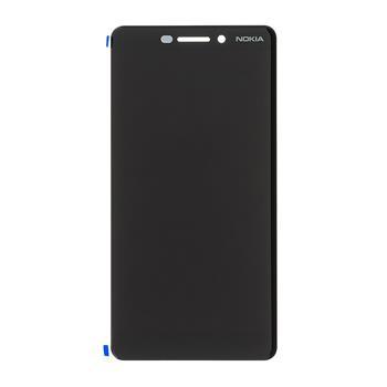 Nokia 6.1 LCD Displej + Dotyková Deska (Black)