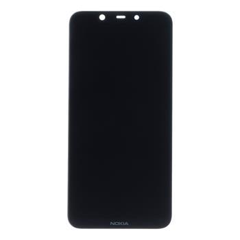 Nokia 8.1 LCD Displej + Dotyková Deska (Black)
