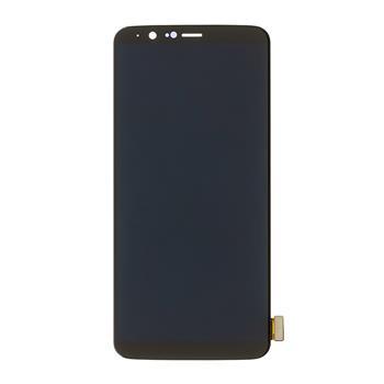 OnePlus 5T LCD Displej + Dotyková Deska (Black) OLED