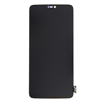 OnePlus 6 LCD Displej + Dotyková Deska (Black) OLED