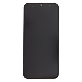 Samsung A505 Galaxy A50 LCD Display + Dotyk + Rámeček (Black)
