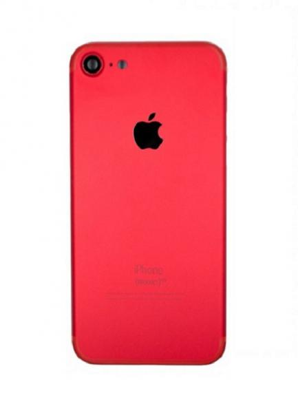 Apple iPhone 7 Zadní Kryt (Red) Service Pack