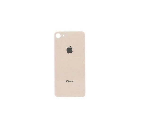 Apple iPhone 8 Skleněný Zadní Kryt Baterie (Pink)