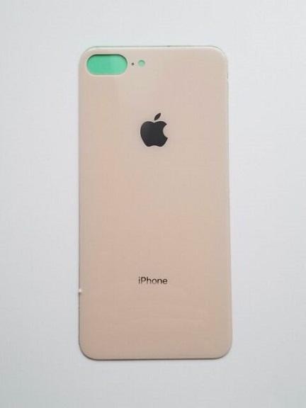 Apple iPhone 8 Plus Skleněný Zadní Kryt Baterie (Pink)
