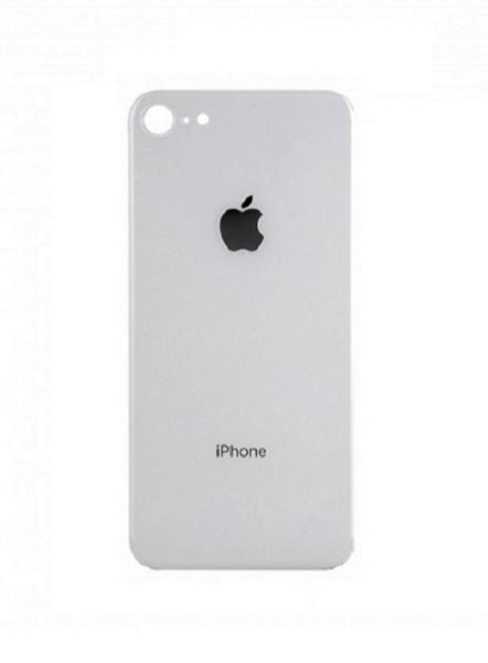Apple iPhone 8 Skleněný Zadní Kryt Baterie (White)