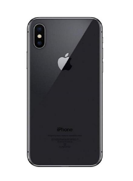 Apple iPhone X Zadní Kryt (Black) Service Pack